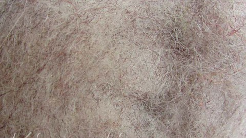 k1114 Wool for felting brown  buy in the online store