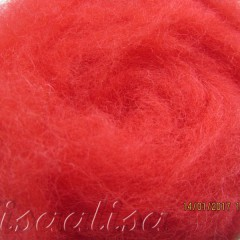 k3004 Wool for felting red  buy in the online store