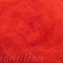 k3011 Wool for felting red  buy in the online store