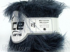 Пряжа ICE Faux Fur Grey Dark fnt2-36768